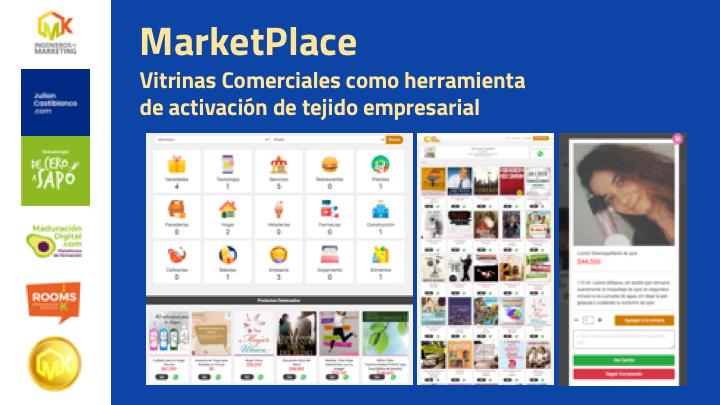 MarketPlace: Vitrinas Comerciales como herramienta de activación de tejido empresarial