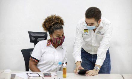 Gobernador Blel y ministra de Ciencia y Tecnología le apuestan a la proyección de Bolívar como territorio competitivo