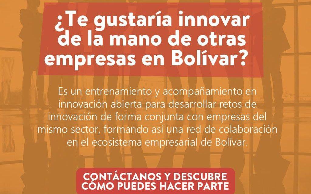 ¿Te gustaría innovar de la mano de otras empresas en Bolívar?