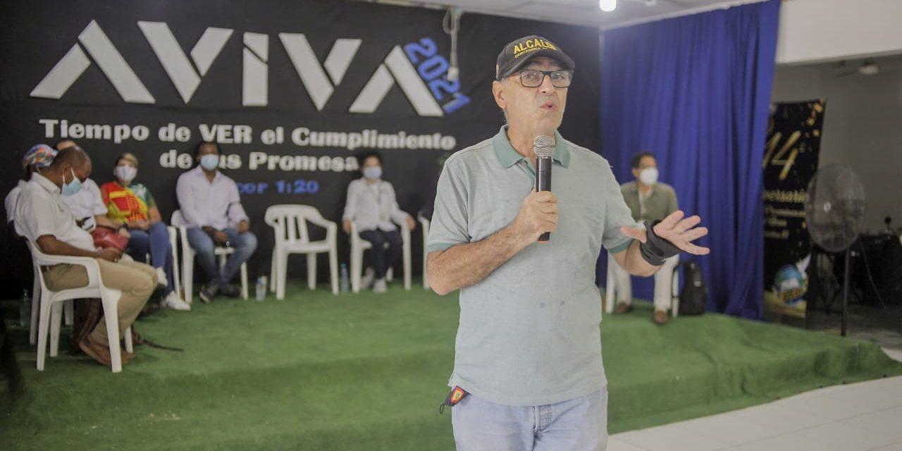 Tercer Encuentro Comunal y ciudadano presidido por el Alcalde William Dau