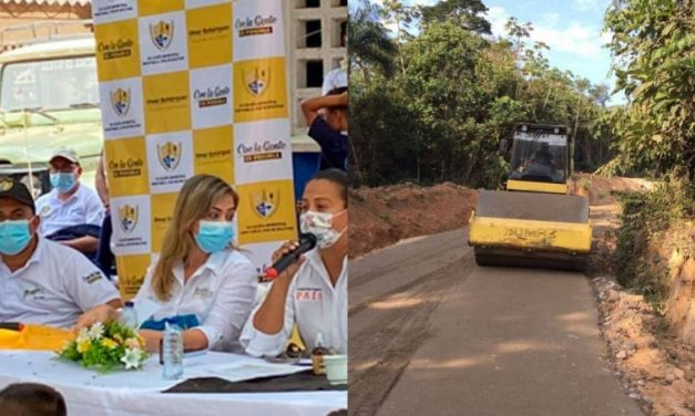 Inicia mejoramiento de vías terciarias en el sur de Bolívar