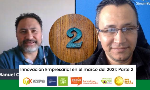 Innovación Empresarial en el marco del 2021 (Parte 2)