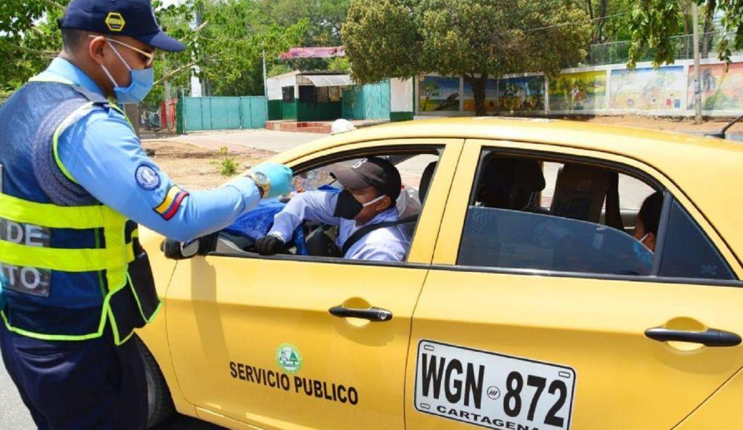 Nueva rotación del pico y placa para taxis para mes de marzo
