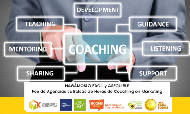 Fee de Agencias vs Bolsas de Horas de Coaching en Marketing