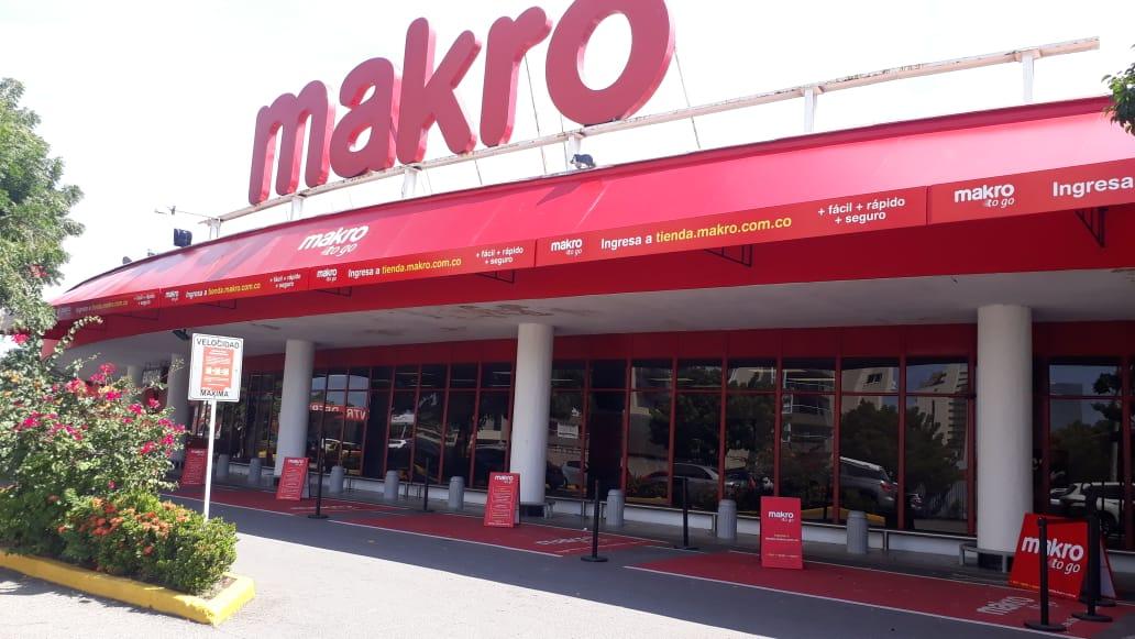 Makro Colombia se une a nueva alternativa de compra para garantizar la bioseguridad de sus compradores y empleados