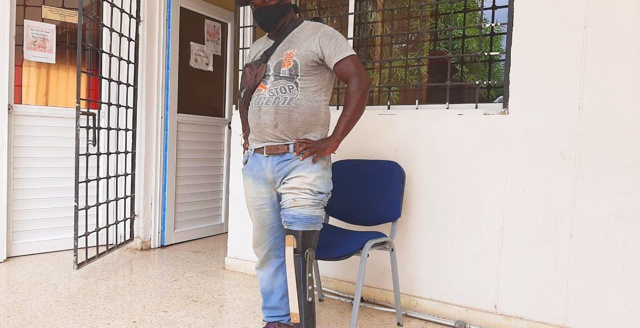 Amputados reciben prótesis y mejoran calidad vida en María La Baja