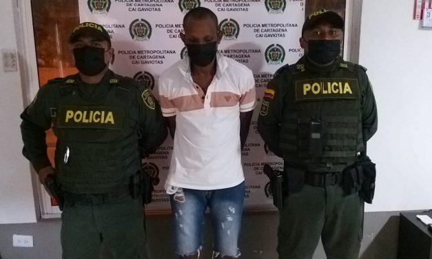 Cae el cuarto integrante del cartel de los más buscados en Cartagena