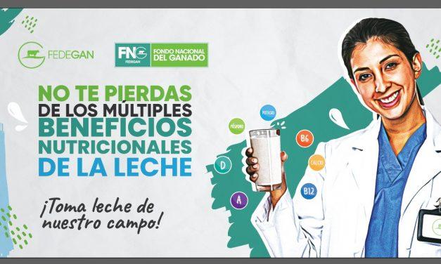 Fedegan-FNG llega a la puerta de los colombianos obsequiando leche