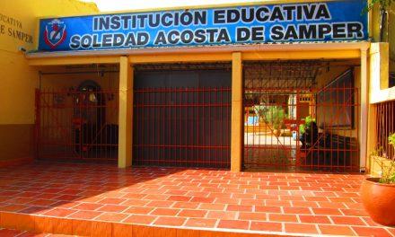 74 estudiantes del colegio Soledad Acosta de Samper fueron admitidos en la UDC