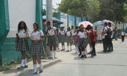 103 colegios de Cartagena en alternancia