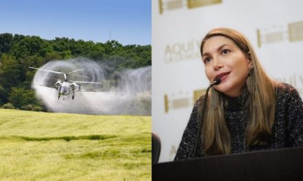 Conflicto con senadora por glifosato en Colombia