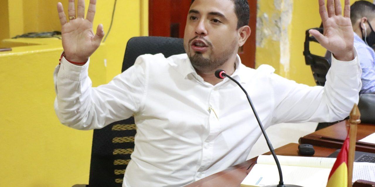 Concejal Sergio Mendoza discrepa con las cifras presentadas po el distrito en materia de seguridad