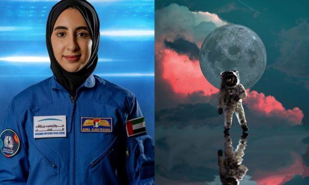 La primera mujer astronauta árabe