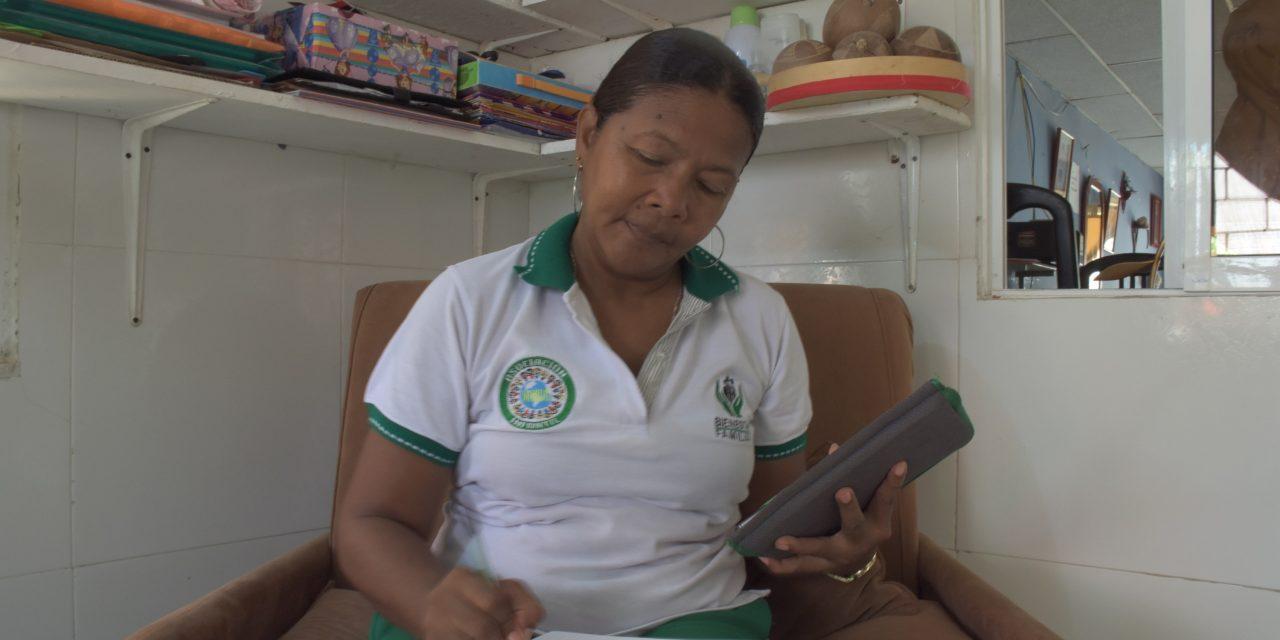Agentes comunitarias trabajan por la primera infancia de Pasacaballos