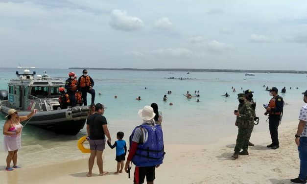 Armada Nacional, Dimar e infantería de Marina unen fuerzas para trabajar por la seguridad de Playa Blanca, Barú