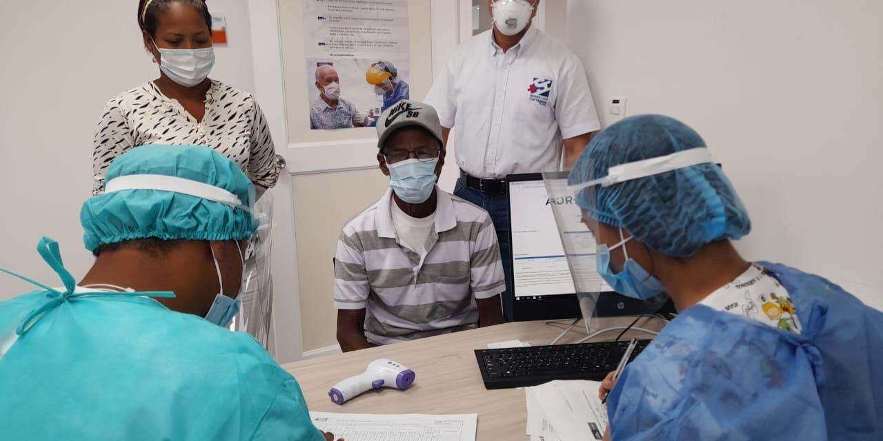 ESE Hospital Local Cartagena de Indias presta ayuda para facilitar vacunación en zona norte y zona Insular del Distrito.