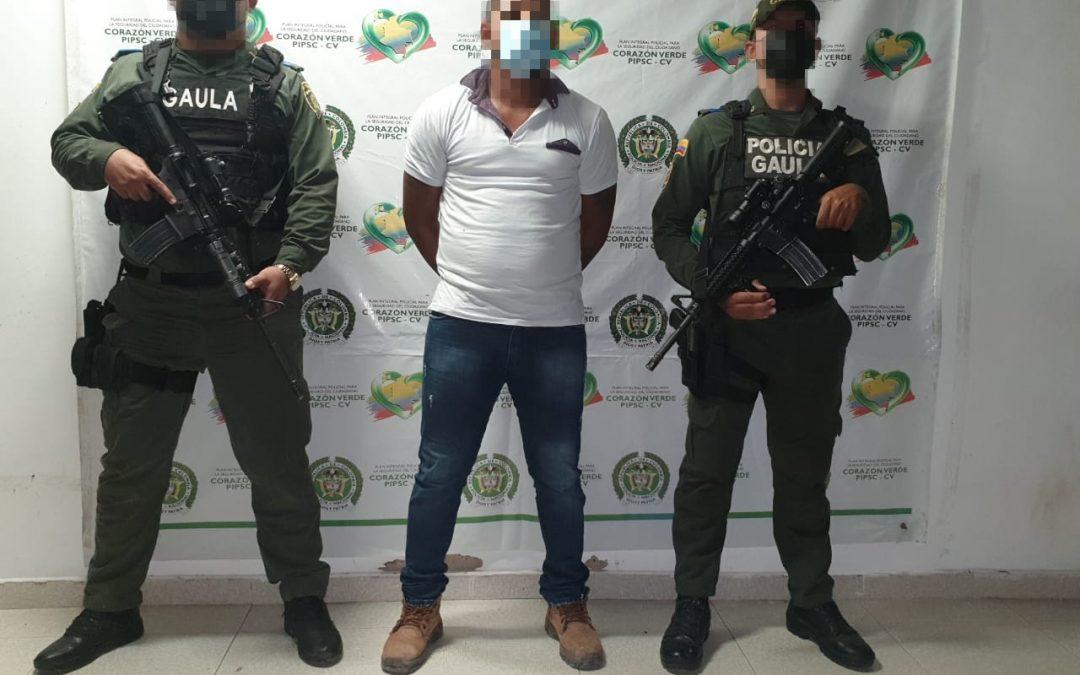 Capturan a alias 'Puchi', perteneciente a la lista de los más buscados en Bolívar