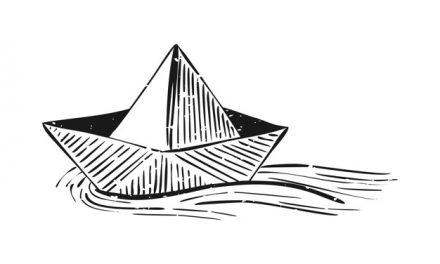 El puerto de papel