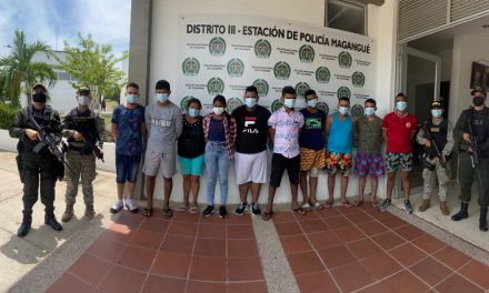 Por el delito de extorsión capturan a 14 integrantes de los 'Causas II' en Bolívar