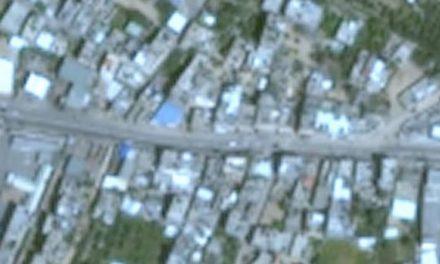 Cómo se ve Gaza desde Google Maps