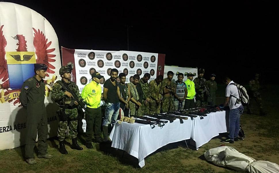Duro golpe a la red criminal del Clan del Golfo que delinquía en el departamento de Bolívar