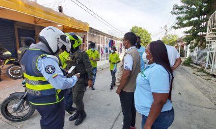 Alcaldía de la Localidad Industrial y de la Bahía realiza operativo de control ciudadano