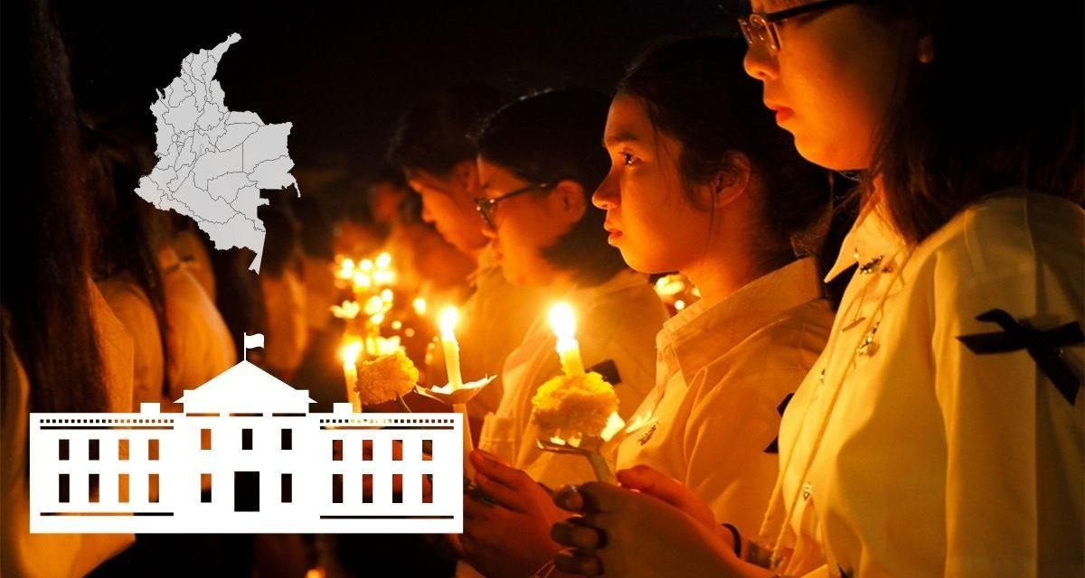 Casa Blanca pide que busquen a los desaparecidos durante las marchas