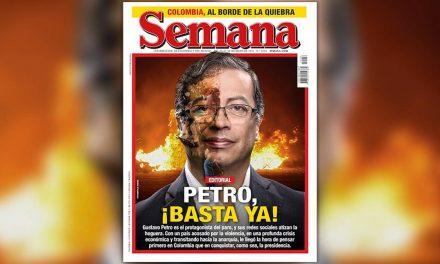 Revista Semana arremete contra Gustavo Petro y lo tildan de incendiario frente al paro nacional