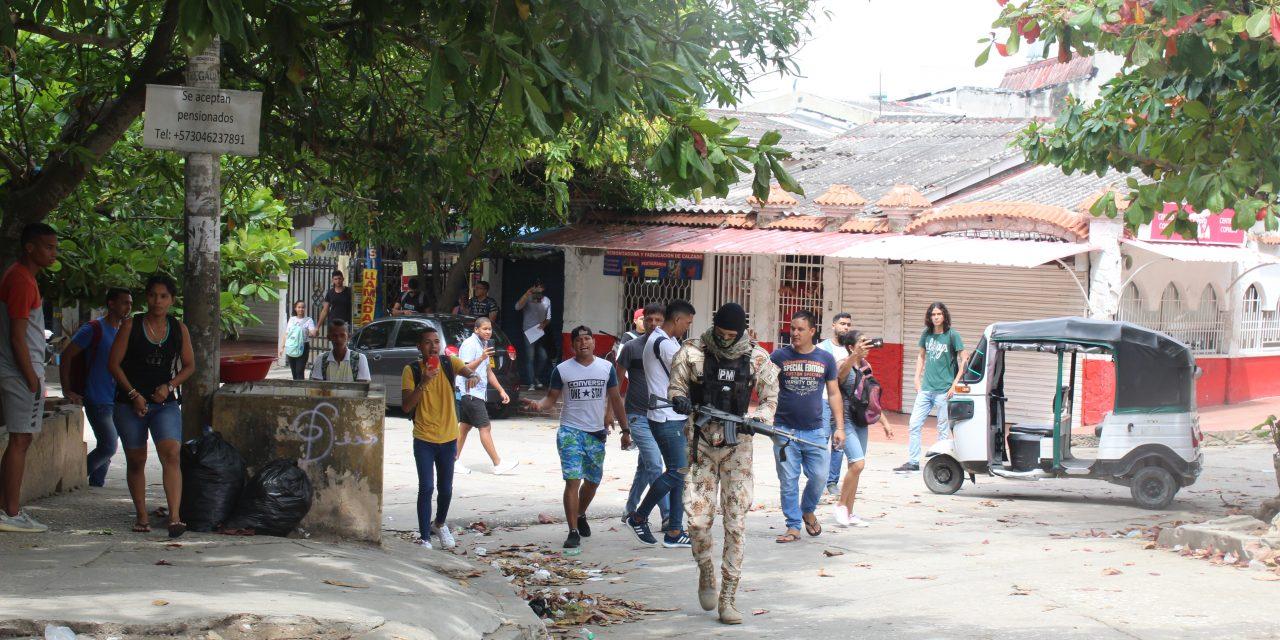 Barranquilla militarizada por los desmanes realizados en la ciudad