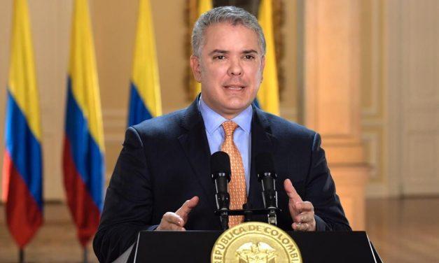 El presidente Duque anunció estrategia para frenar el vandalismo durante el paro nacional
