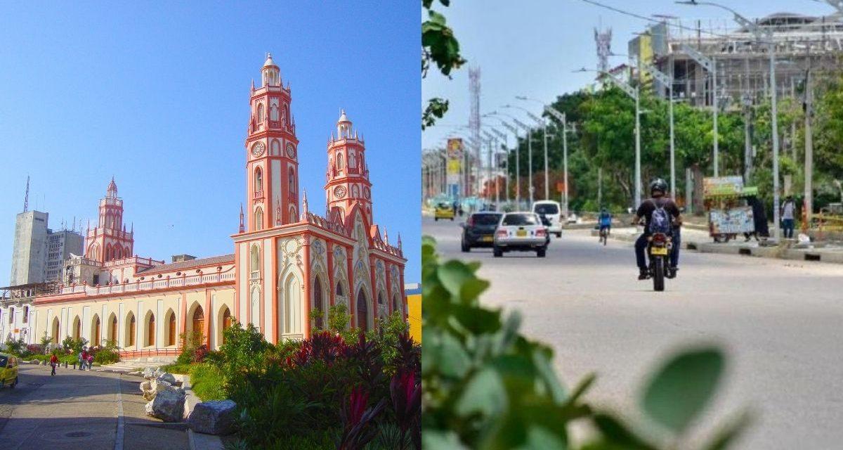 Toque de queda y ley seca en Barranquilla