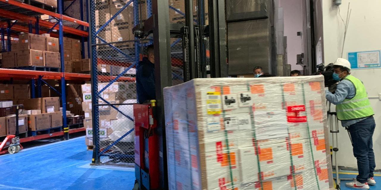 Llegaron más vacunas Sinovac a Colombia