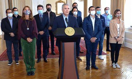 Presidente Iván Duque pide retirar la reforma tributaria del congreso de la republica