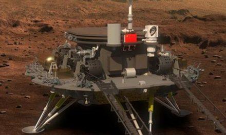 China logra aterrizar con éxito El Tianwen-1 en Marte