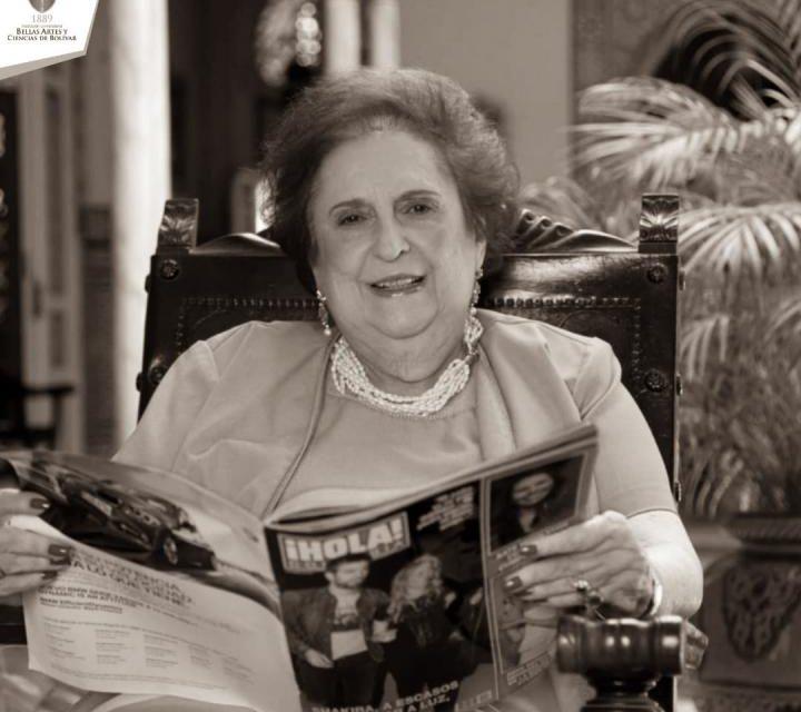 Falleció Teresita Román de Zurek: escritora y chef cartagenera