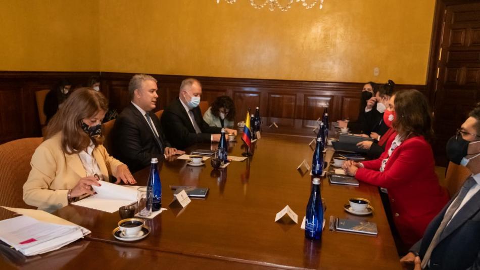 El Presidente Duque declaró hoy ante la Comisión Interamericana de Derechos Humanos