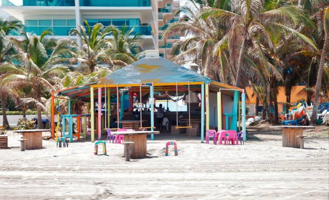 Demuelen kiosco ubicado en el corregimiento de La Boquilla