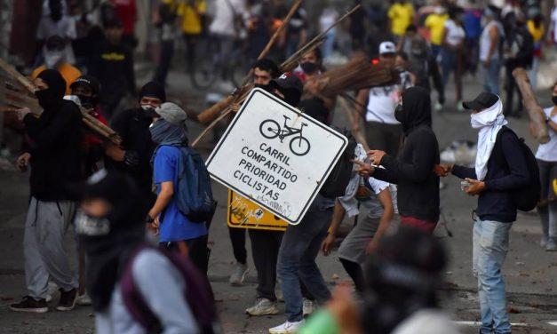 13 vándalos identificados en protestas en Cali