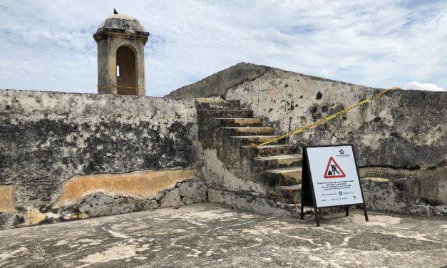 Garita en Bocachica será reparada por la Etcar luego de que un rayo la impactara