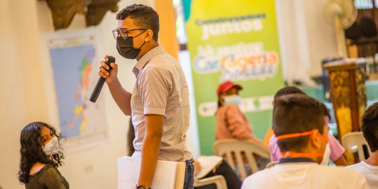 El proyecto Nuestra Cartagena Soñada inició y los jóvenes fueron los protagonistas