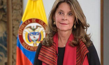 La vicepresidenta, Marta Lucía Ramírez, critica a quienes atacan a la Policía
