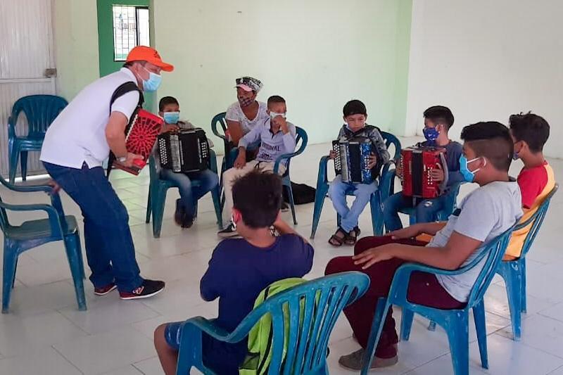 Nueva escuela de música en Margarita, Bolívar