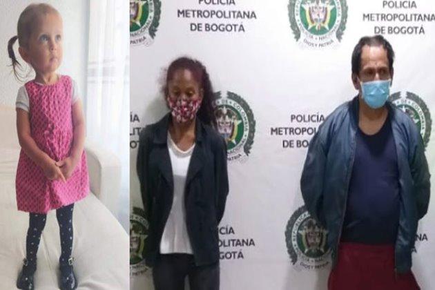 Madre de Sara Sofía acusada de desaparecer el cuerpo de su hija