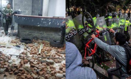 Siguen los actos de vandalismo en Bogotá