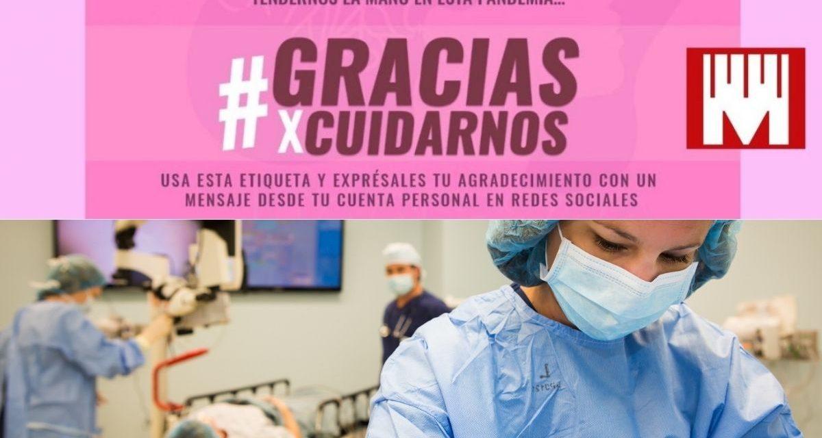 Tributo a las mujeres del sector de la salud: #GraciasXCuidarnos