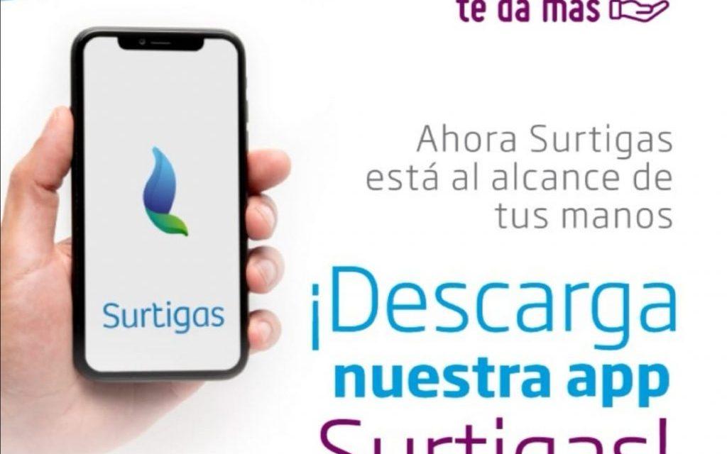 Surtigas lanza aplicación para teléfonos móviles