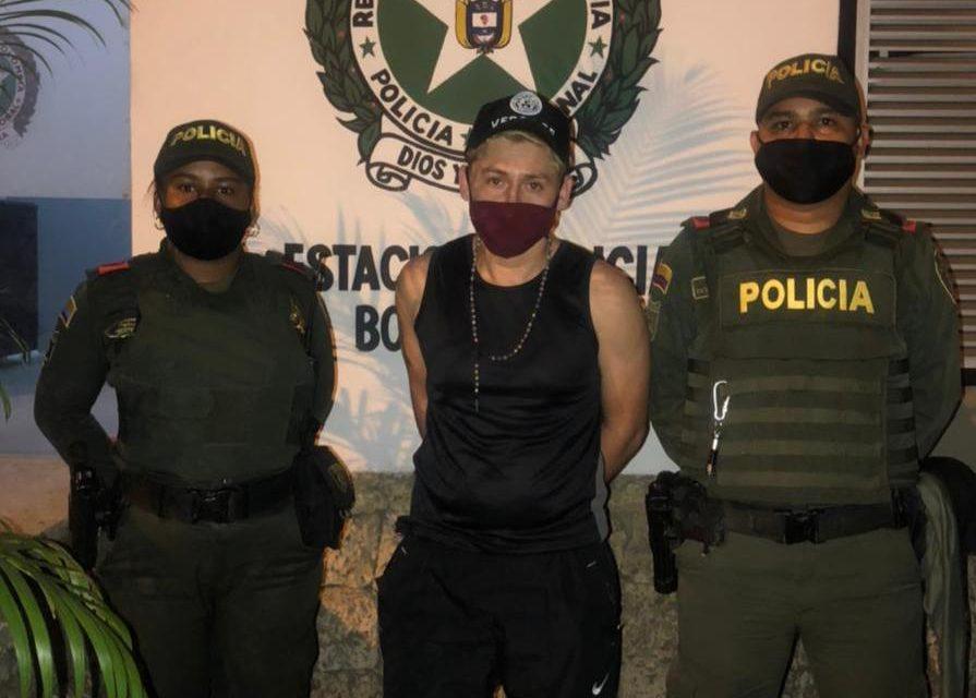 """Capturado alias """"KIKE"""" en el barrio Bocagrande"""