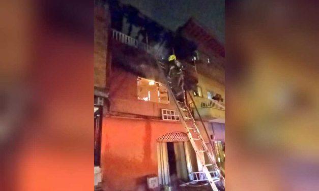 Padre e Hija mueren en incendio de su vivienda en Medellín