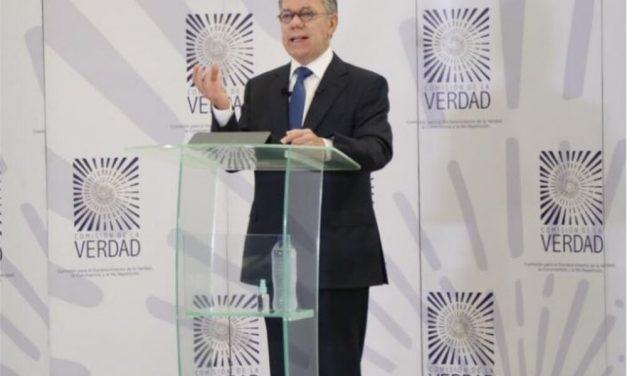 Juan Manuel Santos habló sobre los falsos positivos ante la Comisión de la Verdad