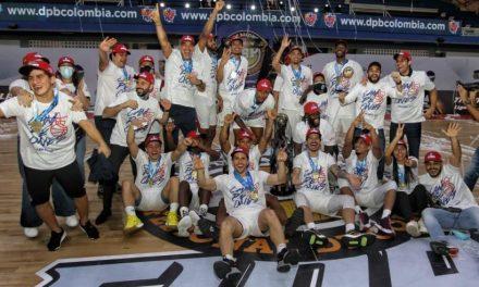 """El equipo de Baloncesto """"Titanes de Barranquilla"""" son los tetracampeones del certamen profesional"""
